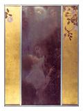Amour (1895) Reproduction d'art par Gustav Klimt