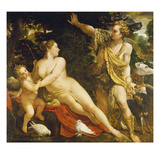 Adonis and Venus  about 1588/89
