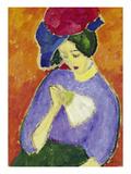 Dame Mit Faecher  1909
