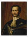 Max Ii Joseph  King of Bavaria  as Hubertus Knight (1811-1864) Head