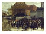 Die Aufbahrung Der Gefallenen Der Maerzrevolution in Berlin  1848