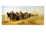 Die Wolgatreidler  1870/73