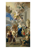 Saint Elizabeth of Hungary Giving Out Alms  1736/37