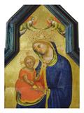Madonna Und Kind Mit Engeln