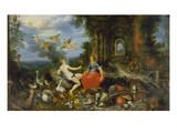Fire and Air (Brueghel and Frans Francken the Younger)