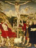 Altar Der Peter- Und Paulkirche in Weimar Mitteltafel: Christus Am Kreuz