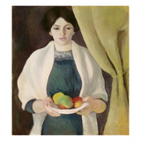 Portrait with Apples  1909
