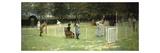 The Tennis Match  1885
