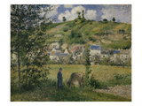 Landscape at Chaponval  1880