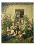Children Blowing Bubbles  1842