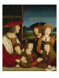 The Emperor Maximilian I with His Family  1515