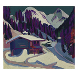 Wildboden with Snow  1924/26