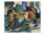 Horse Jumping  1913