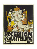 Poster for the Vienna Secession  49th Exhibition  1918