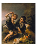 Children Eating a Pie  about 1670/75