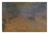 Im Herbstnebel  1897
