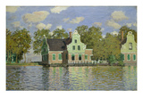 Houses on the Bank of the River Zaan  1871/72