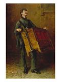 The Organ Grinder  1869