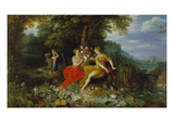 Water and Earth (In Co-Operation with Frans Francken the Younger)