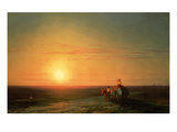 Peasants Returning from the Fields at Sunset  187()
