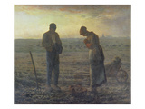 Evening Prayer (L'Angélus)  1857/59