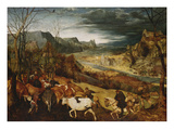 The Return of the Herd (From: the Seasons)  1565