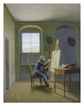 Caspar David Friedrich in His Studio  1819