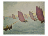 Regatta Near Concarneau  1891