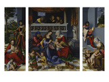 The Holy Kinship (So-Called Torgau Altarpiece)  1509