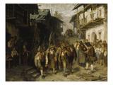 Das Letzte Aufgebot (Skizze)  1872