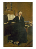Madame Camus at the Piano  1869