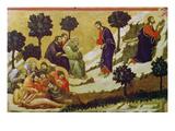 Christus Und Die Schlafenden Juenger Am Oelberg