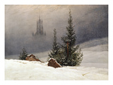 Winter Landscape with Church  1811