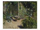 Sunny Corner in the Garden of Neukastel  1921