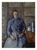 Woman with Coffee Pot (Femme a La Cafetiere)  about 1890-95
