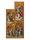 Kaisheimer Altarpiece (Right Inner Panel): Assumption Day  Nativity  Presentation in Temple