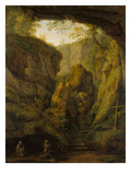 The Grotto of St Fancis on Monte Verna