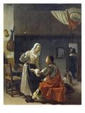 Brothel Scene  1658