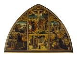 Basilika StaCroce Christus Am Kreuz  Basilika  Legende Der HlUrsula  1504