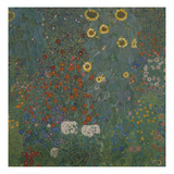 Farm Garden with Sunflowers  1905/06