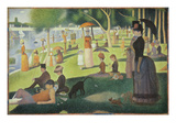 A Sunday on the Island of La Grande Jatte  1884-86
