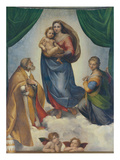 The Sistine Madonna  about 1513