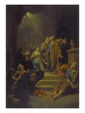 Die Ausgiessung des HlGeistes  1711
