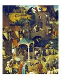 Netherlandish Proverbs (Detail)  1559