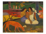 Arearea (The Red Dog)  1892