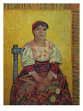 Italian Woman (Agostina Segatori)1887