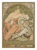 Poster Advertising the &#39;soci&#233;t&#233; Populaire Des Beaux-Arts&#39;  1897