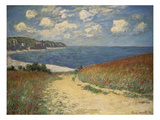 Path in the Wheat at Pourville  1882
