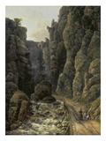 Canyon in Saxon Switzerland   1820