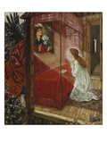The Annunciation (&#39;the Flower of God&#39;)  1863